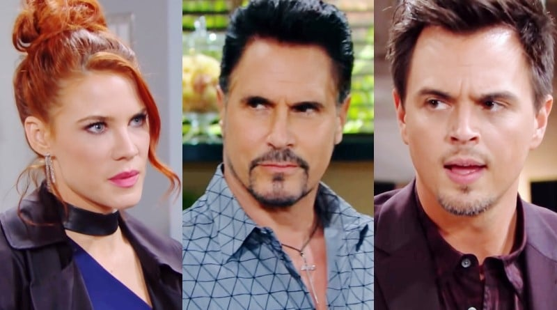Bold and the Beautiful Spoilers: Sally Spectra (Courtney Hope) - Bill Spencer (Don Diamont) - Wyatt Spencer (Darin Brooks)