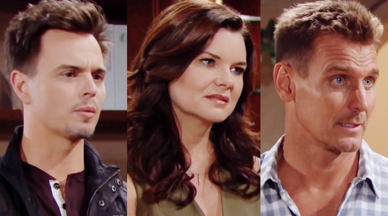 Bold and the Beautiful Spoilers: Wyatt Spencer (Darin Brooks) - Katie Logan (Heather Tom) - Thorne Forrester (Ingo Rademacher)