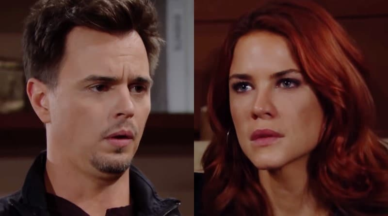 Bold and the Beautiful Spoilers: Wyatt Spencer (Darin Brooks) - Sally Spectra (Courtney Hope)