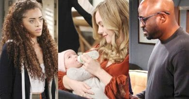 Bold and the Beautiful Spoilers: Zoe Buckingham (Kiara Barnes) - Hope Logan (Annika Noelle) - Reese Buckingham (Wayne Brady)