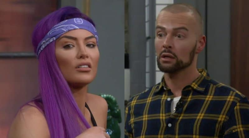 Celebrity Big Brother Recap: Natalie Eva Marie - Joey Lawrence