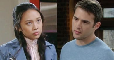 Days of Our Lives Spoilers: Haley Chen (Thia Megia) - JJ Deveraux (Casey Moss)
