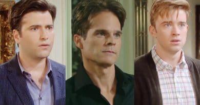 Days of Our Lives Spoilers: Sonny Kiriakis (Freddie Smith) - Leo Stark (Greg Rikaart) - Will Horton (Chandler Massey)