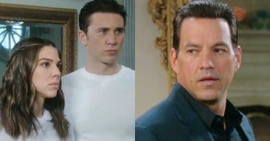Days of Our Lives Spoilers: Abigail Deveraux (Kate Mansi) - Chad DiMera (Billy Flynn) - Stefan DiMera (Tyler Christopher)
