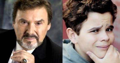 Days of Our Lives Spoilers: Stefano DiMera (Joseph Mascolo) - Johnny DiMera (Griffin Kunitz)