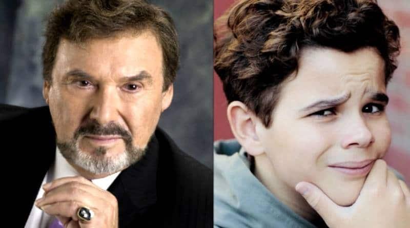 Days of Our Lives Spoilers: Stefano DiMera (Joseph Mascolo) - Johnny DiMera (Griffin Kunitz)