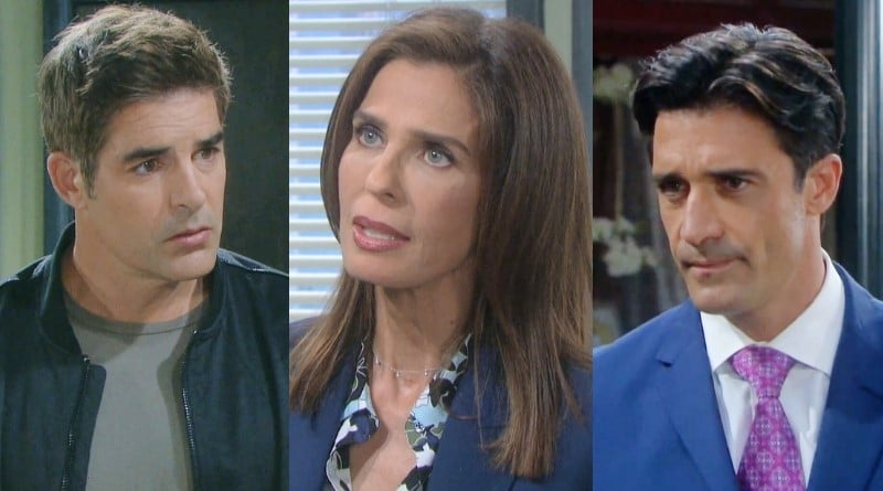 Days of Our Lives Spoilers: Rafe Hernandez (Galen Gering) - Hope Brady (Kristian Alfonso) - Ted Laurent (Gilles Marini)
