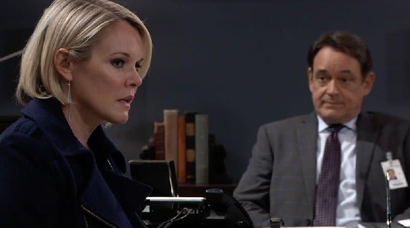 General Hospital Spoilers: Ava Jerome (Maura West) Ryan Chamberlain (Jon Lindstrom)