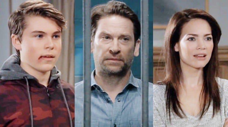 General Hospital Spoilers: Cameron Webber (William Lipton) - Franco Baldwin (Roger Howarth) - Elizabeth Webber (Rebecca Herbst)