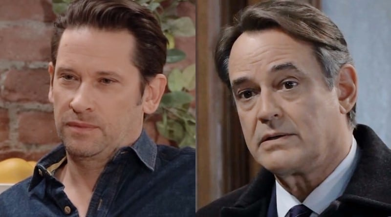 General Hospital Spoilers: Franco Baldwin (Roger Howarth) - Ryan Chamberlain (Jon Lindstrom)