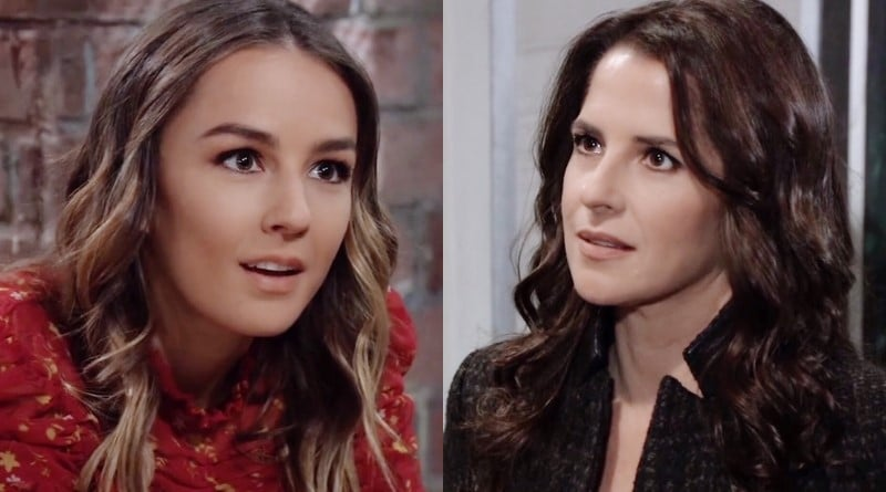 General Hospital Spoilers: Kristina Davis (Lexi Ainsworth) - Sam McCall (Kelly Monaco)