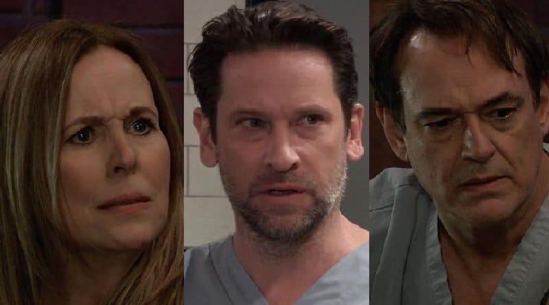 General Hospital Spoilers: Laura Spencer (Genie Francis) - Franco Baldwin (Roger Howarth) - Kevin Collins (Jon Lindstrom)