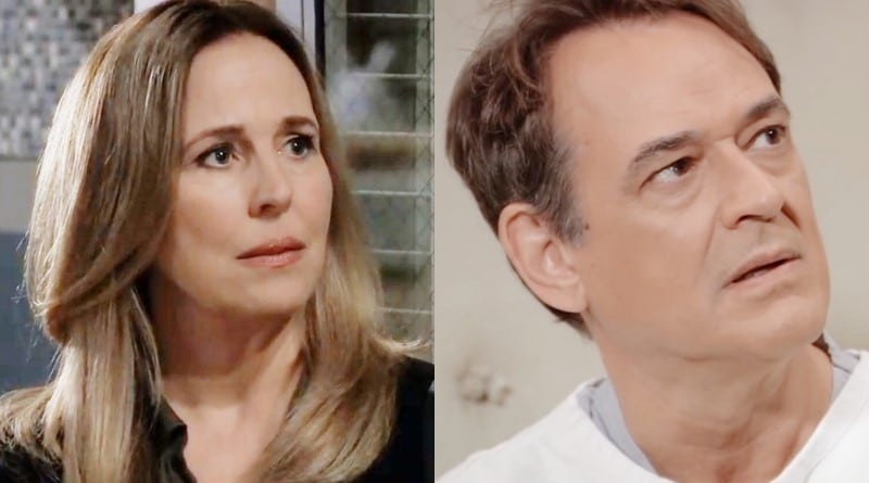 General Hospital Spoilers: Laura Spencer (Genie Francis) - Kevin Collins (Jon Lindstrom)