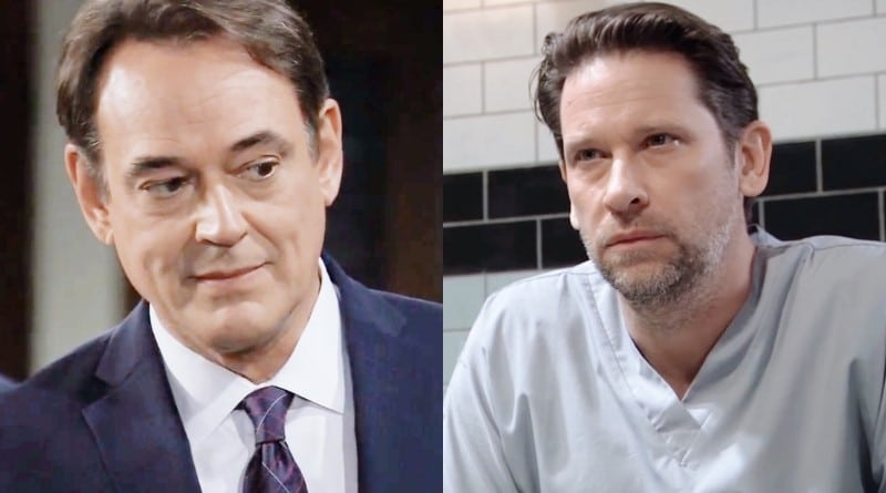 General Hospital Spoilers: Ryan Chamberlain (Jon Lindstrom) - Franco Baldwin (Roger Howarth)