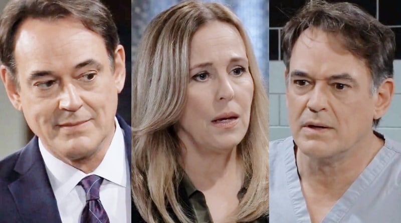 General Hospital Spoilers: Ryan Chamberlain (Jon Lindstrom) - Laura Spencer (Genie Francis) - Kevin Collins (Jon Lindstrom)