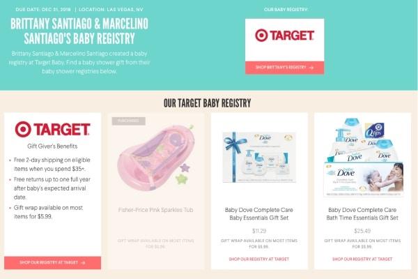 Love After Lockup: Brittany - Marcelino Baby Registry