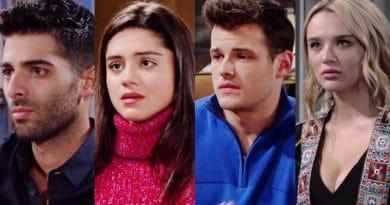 Young and the Restless Spoilers: Arturo Rosales (Jason Canela) - Lola Rosales (Sasha Calle) - Kyle Abbott (Michael Mealor) - Summer Newman (Hunter King)