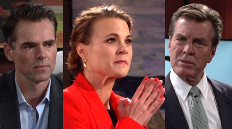 Young and the Restless Spoilers: Billy Abbot (Jason Thompson) - Phyllis Summers (Gina Tognoni) - Jack Abbott (Peter Bergman)
