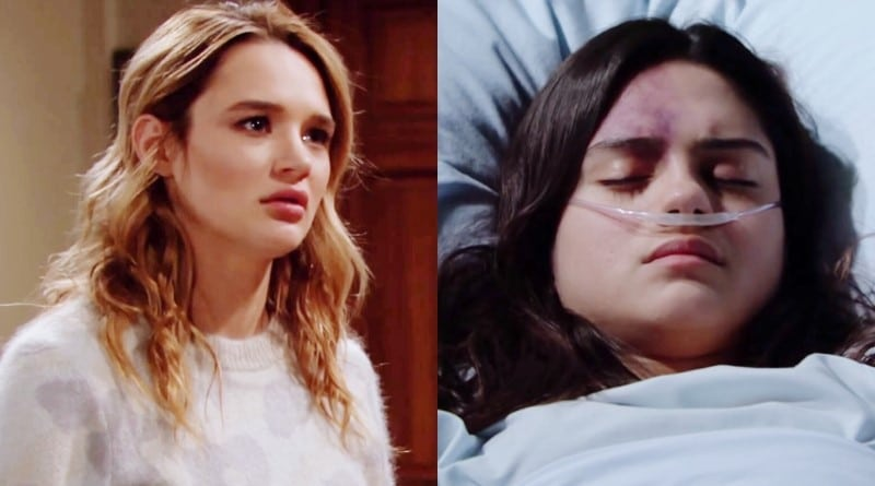 Young and the Restless Spoilers: Summer Newman (Hunter King) - Lola Rosales (Sasha Calle)
