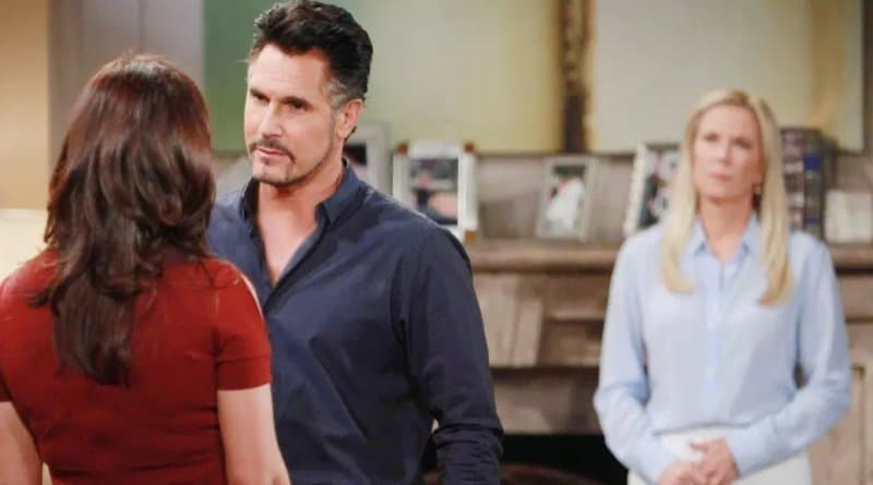 Bold and the Beautiful Spoilers - Brooke Logan (Katherine Kelly Lang) - Katie Logan (Heather Tom) - Bill Spencer (Don Diamont)