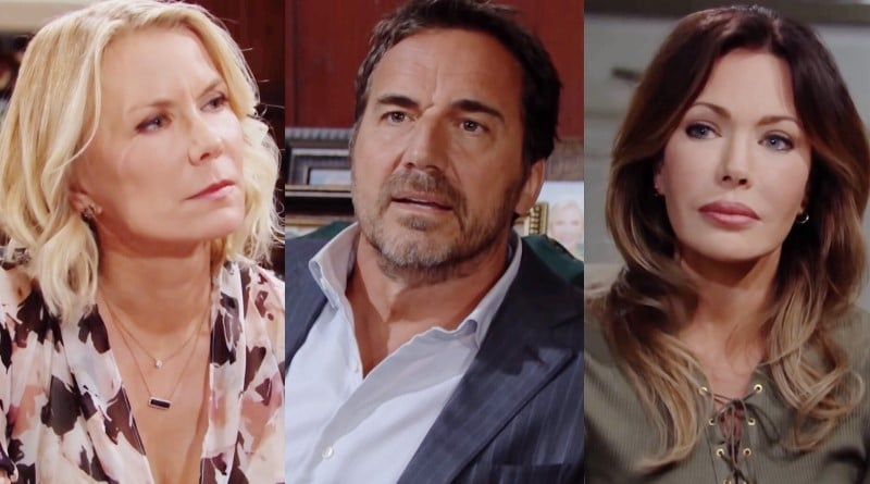 Bold and the Beautiful Spoilers: Brooke Logan (Katherine Kelly Lang) - Ridge Forrester (Thorsten Kaye) - Taylor Hayes (Hunter Tylo)