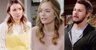 Bold and the Beautiful Spoilers: Florence Fulton (Katrina Bowden) - Hope Logan (Annika Noelle) - Liam Spencer (Scott Clifton)
