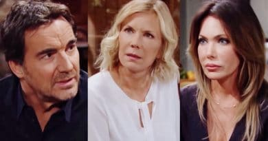 Bold and the Beautiful Spoilers: Ridge Forrester (Thorsten Kaye) - Brooke Logan (Katherine Kelly Lang) - Taylor Hayes (Hunter Tylo)