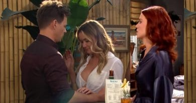 Bold and the Beautiful Spoilers - Sally Spectra (Courtney Hope) - Wyatt Spencer (Darin Brooks) - Flo Fulton (Katrina Bowden)