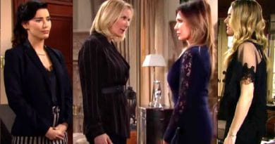 Bold and the Beautiful Spoilers: Steffy Forrester (Jacqueline MacInnes Wood) - Brooke Logan (Katherine Kelly Lang) - Taylor Hayes (Hunter Tylo) - Hope Logan (Annika Noelle)
