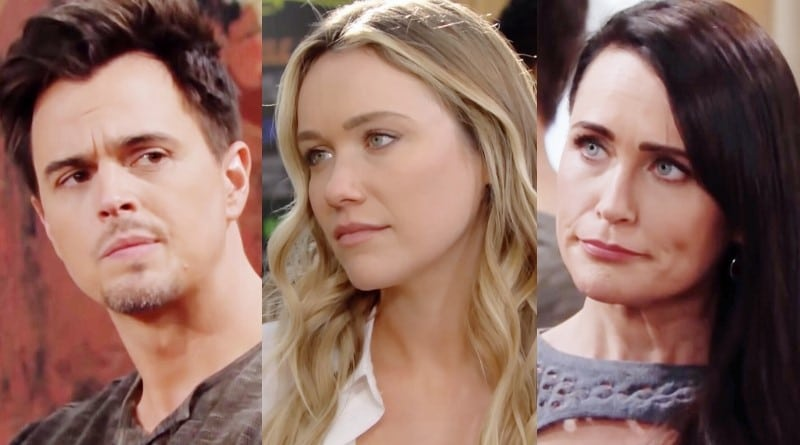Bold and the Beautiful Spoilers: Wyatt Spencer (Darin Brooks) - Flo Fulton (Katrina Bowden) - Quinn Fuller (Rena Sofer)