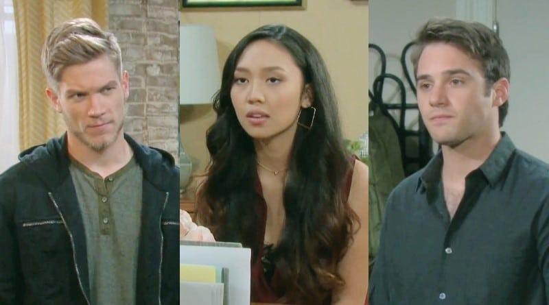 Days of Our Lives Spoilers: Tripp Dalton (Lucas Adams) - Haley Chen (Thia Megia) - JJ Deveraux (Casey Moss)