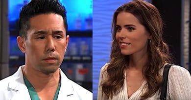 General Hospital Spoilers: Brad Cooper (Parry Shen) - Sasha Gilmore (Sofia Mattsson)