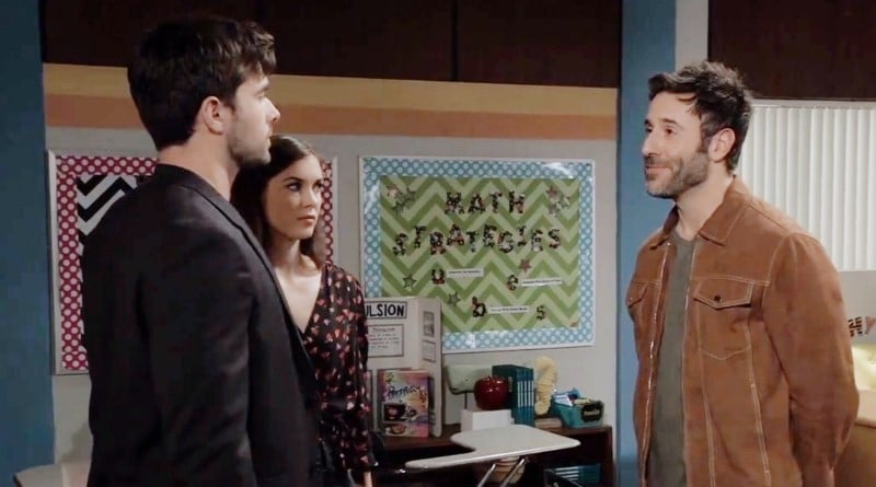 General Hospital Spoilers: Harrison Chase (Josh Swickard) - Willow Tait (Katelyn MacMullen) - Shiloh Archer (Coby Ryan McLaughlin)