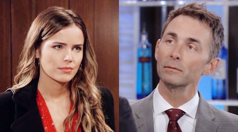 General Hospital Spoilers: Sasha Gilmore (Sofia Mattsson) - Valentin Cassadine (James Patrick Stuart)