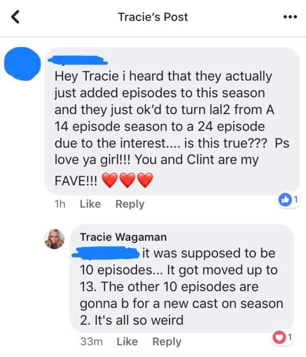 Love After Lockup: Tracie Wagaman Facebook