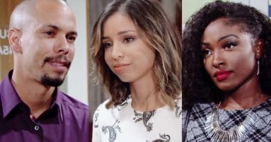 Young and the Restless Spoilers: Devon Hamilton (Bryton James) - Elena Dawson (Brytni Sarpy) - Ana Hamilton (Loren Lott)