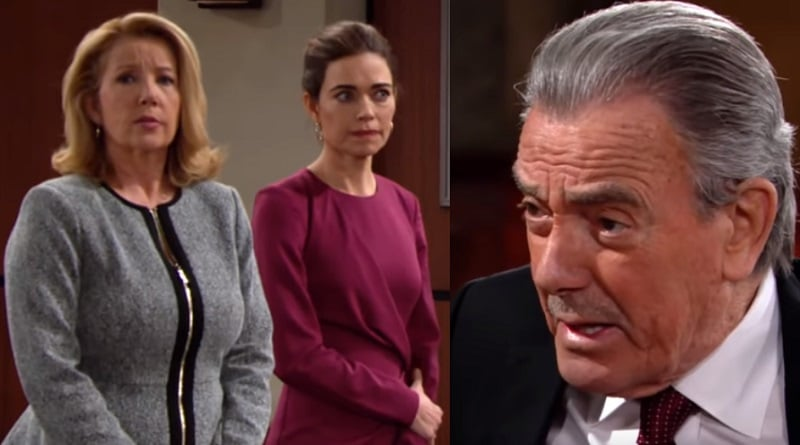 Young and the Restless Spoilers: Victor Newman (Eric Braeden) - Victoria Newman (Amelia Heinle) - Nikki Newman (Melody Thomas Scott)