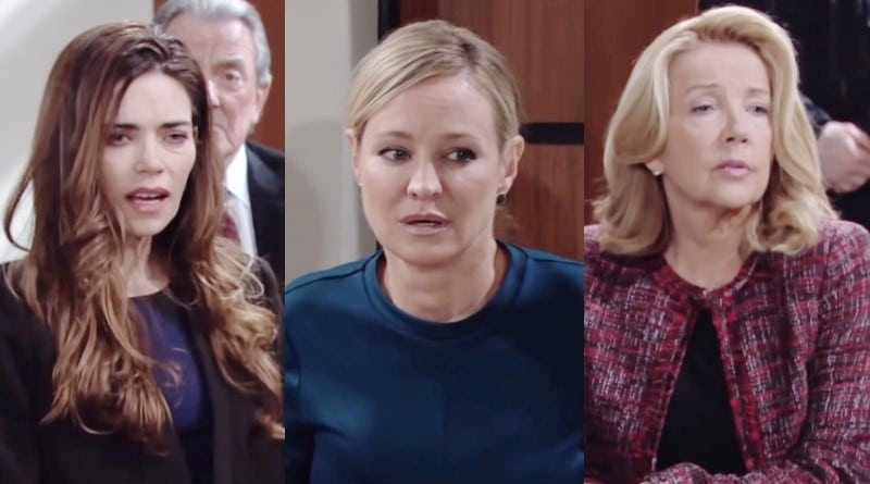 Young and the Restless Spoilers: Victoria Newman (Amelia Heinle) - Sharon Newman (Sharon Case) - Nikki Newman (Melody Thomas Scott)