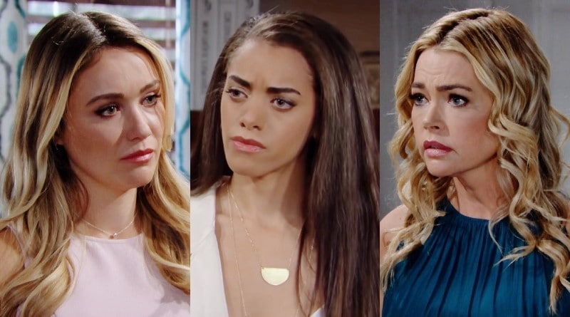 Bold and the Beautiful' Spoilers: Zoe, Flo, and Shauna Make a Deal ...