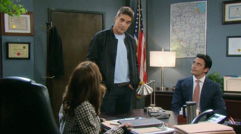 Days of Our Lives Spoilers: Hope Brady (Kristian Alfonso) - Rafe Hernandez (Galen Gering) - Ted Laurent (Gilles Marini)