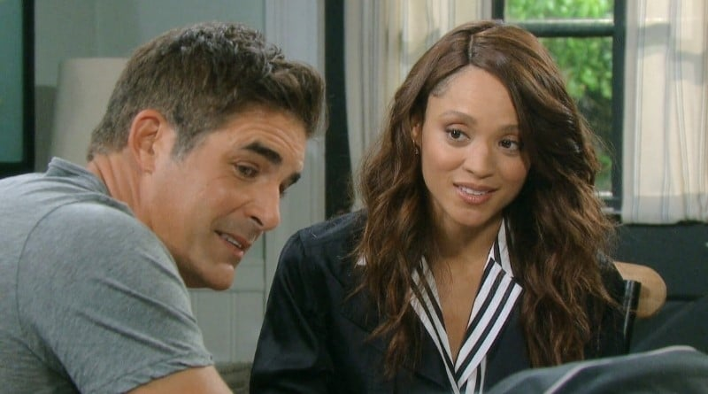Days of Our Lives Spoilers: Rafe Hernandez (Galen Gering) - Lani Price (Sal Stowers)