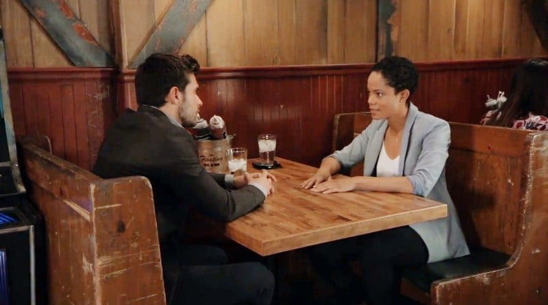 General Hospital Spoilers: Harrison Chase (Josh Swickard) - Valerie Spencer (Paulina Bugembe)