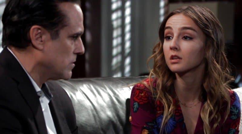 General Hospital Spoilers: Kristina Corinthos (Lexi Ainsworth) - Sonny Corinthos (Maurice Benard)