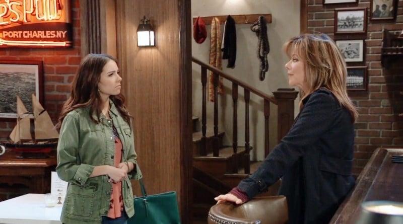 General Hospital Spoilers: Molly Lansing (Haley Pullos) - Alexis Davis (Nancy Lee Grahn)