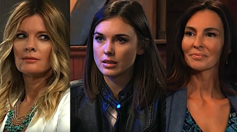 General Hospital Spoilers: Nina Reeves (Michelle Stafford) - Willow Tait (Katelyn MacMullen) - Harmony (Inga Cadranel)
