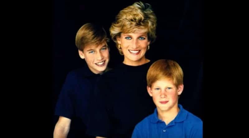 Princess Diana - Prince William - Prince Harry