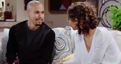 Young and the Restless Spoilers: Devon Hamilton (Bryton James) - Elena Dawson (Brytni Sarpy)