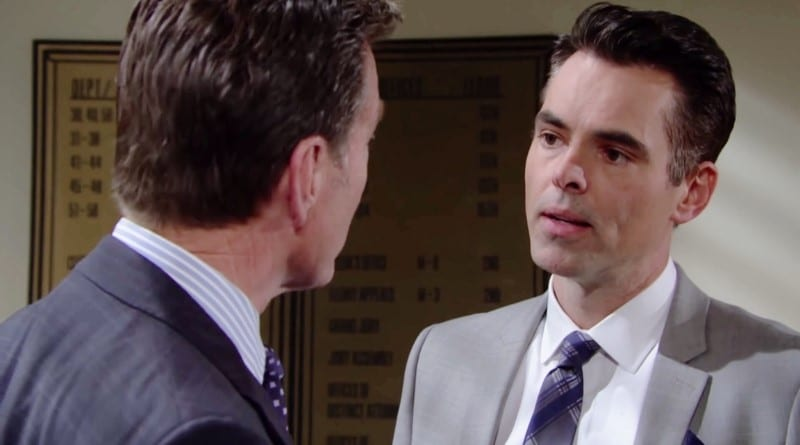 Young and the Restless Spoilers: Jack Abbott (Peter Bergman) - Billy Abbott (Jason Thompson)