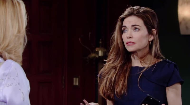 Young and the Restless Spoilers: Nikki Newman (Melody Thomas Scott) - Victoria Newman (Amelia Heinle)
