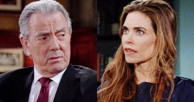 Young and the Restless Spoilers: Victor Newman (Eric Braeden) - Victoria Newman (Amelia Heinle)